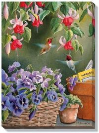 Garden Delights -Hummingsbirds