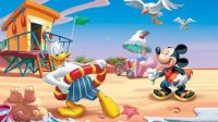 Donald and Mickey's vacation