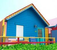 Colorful Caribbean Cottage