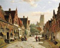 Dutch Street  In Summer