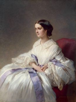 Winterhalter - portrait-of-countess-olga-shuvalova -1858