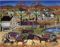 Judy Wickersham Schauerman-Amish Quilt Sale