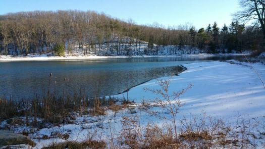 Mirror Lake in January