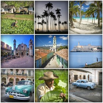 Cuban collage
