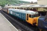 50015 at Keighley 11/06/2010