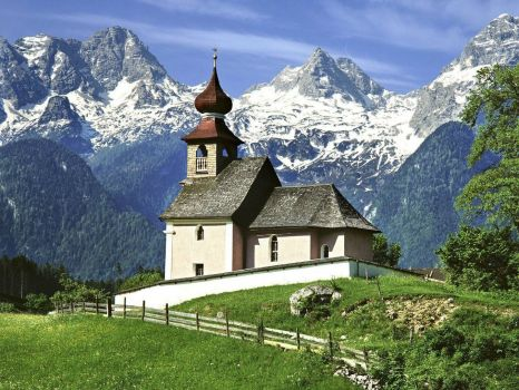 Auer Church - Lofer, Austria