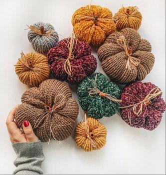 Knit Pumpkin Fun 2