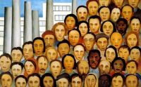 Operarios by Tarsila do Amara