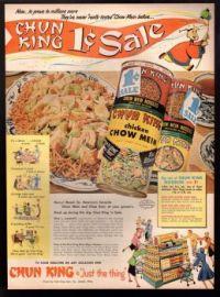 1953 ChunKing Sale Ad