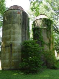 Silos at Bernheim Forest, KY