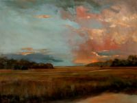 #1833106 Christmas Sunset 30x40