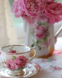 Beautiful Pink Tea