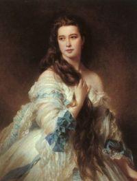 Franz Xaver Winterhalter Portrait of Madame Barbe de Rimsky-Korsako