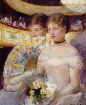 Mary Cassatt - The Loge (1878)