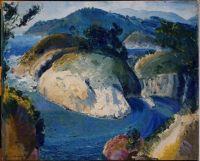 California Headlands, George Wesley Bellows, 1917