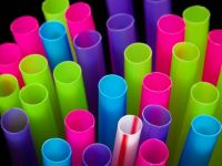 Bright Colourful Straws
