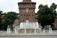 The Castello Sforzesco, Milan