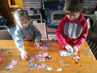 old fashioned puzzling