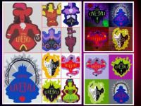 Descendants logos collage