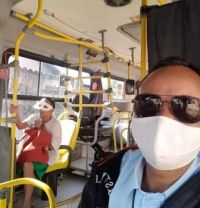 You have to wear a mask on the bus