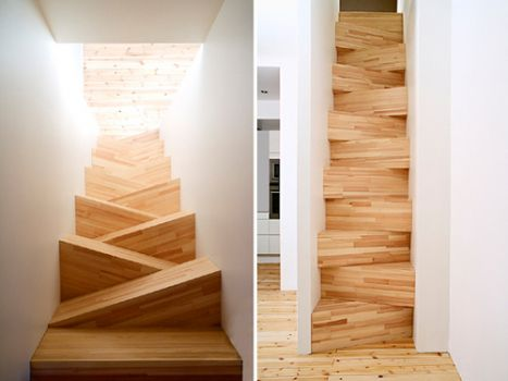 THEME: Staircases: Best to start with the correct foot!
