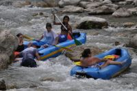 Tubing the Guadalupe River