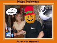 Happy Halloween From Peter And MaryAnn