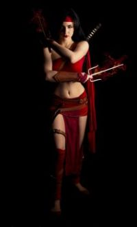 Eve Beauregard as Elektra