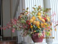 November church flowers