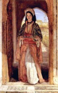 John Frederick Lewis (British, 1805–1876), The Coffee Bearer (1857)