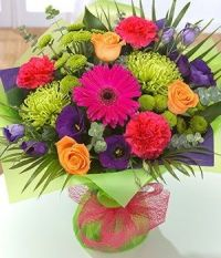 Happiness is.... Vibrandt Aquapak Flower Gift.