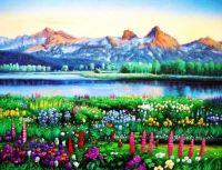 Lakeside Wild Flowers