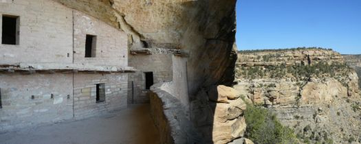 The Balcony House, Mesa Verde National Park.