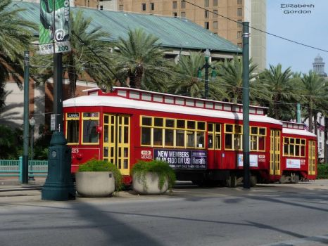 Canal Street ride, New Orleans