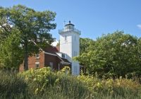 40 Mile Point Lighthouse - Lake Huron, MI