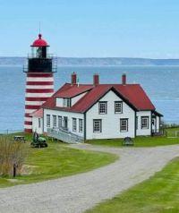 Quoddy Head Light - Lubec Maine