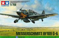 Tamiya Warbird Collection Messerschmitt Bf109 G-6 1/72