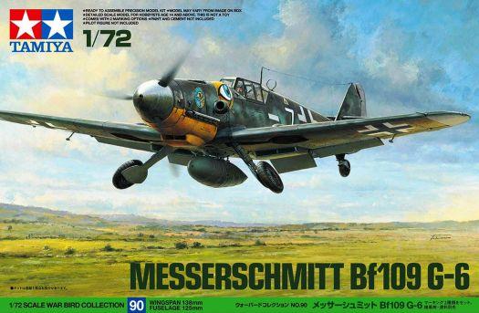 Tamiya Warbird Collection Messerschmitt Bf109 G-6 1/72