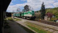 Hvězdonice montážní vlak elektrizace