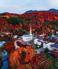 Autumn in Stowe, Vermont  6098