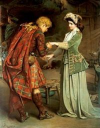 George William Joy (1844–1936), Flora MacDonald's Farewell to Bonnie Prince Charlie