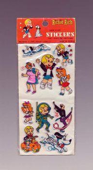 Richie Rich Super Sticky Stickers