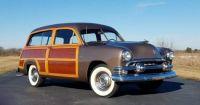 1951 Ford Country Squire Station Wagon Woody Hawaiian Bronze Metallic