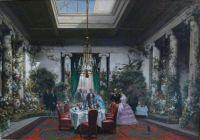 Le salle-à-manger de la princesse Mathilde, rue de Courcelles