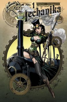 Lady Mechanika 1 Cover Variant by J. Scott Campbell