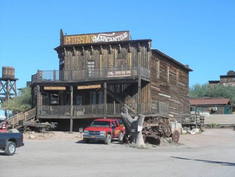 Goldfield Ghost Town, Apache Junction, AZ -- Home of the Superstition Mountains