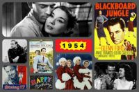 1954 movies collage
