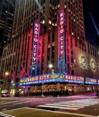Radio City, Rockefeller Center, NYC