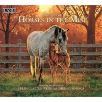 LANG 2019 Wall Calendar Horses in the Mist