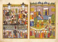 The Enthronement of Süleyman the Magnificent
